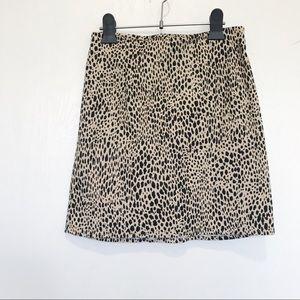 Brandy Melville cheetah print pheobe skirt